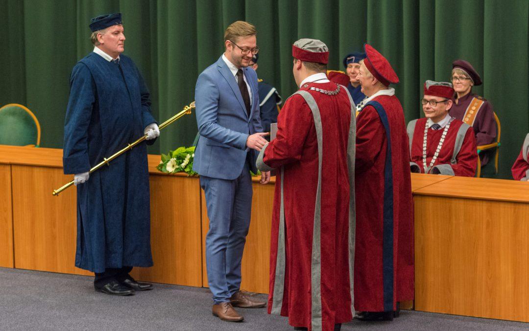Na univerzitě byli jmenováni noví doktoři a docenti