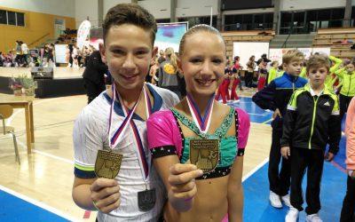 Univerzitní aerobik získal 9 medailí na mistrovství republiky
