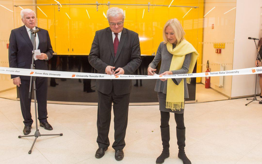 Univerzita slavnostně otevřela nový Vzdělávací komplex