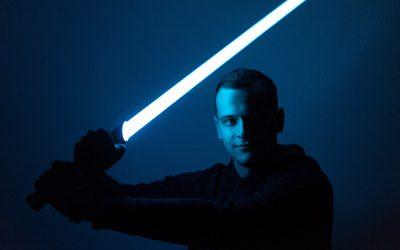 Světelný meč podle studenta procesního inženýrství