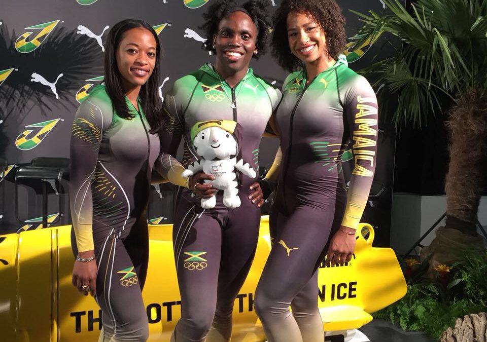 Česká designérka oblékla olympijský tým jamajských bobistek