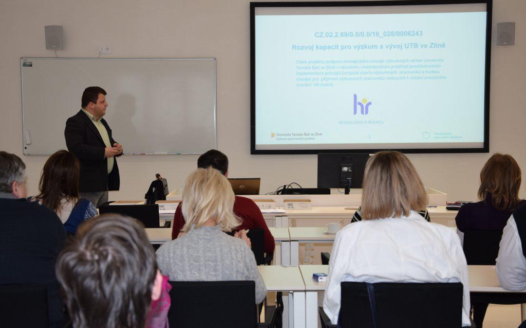 Výzkumná centra Univerzity Tomáše Bati ve Zlíně usilují o významné ocenění