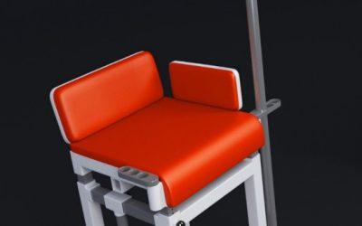 Akademici vyvinuli vrhací židli pro handicapované sportovce