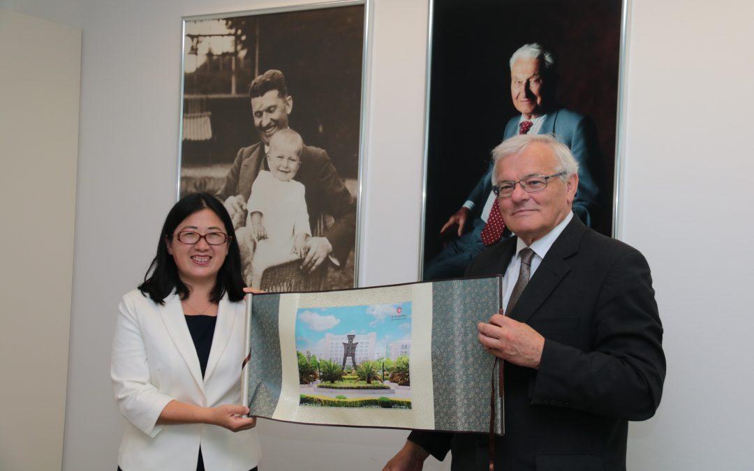 Návštěva z čínské univerzity