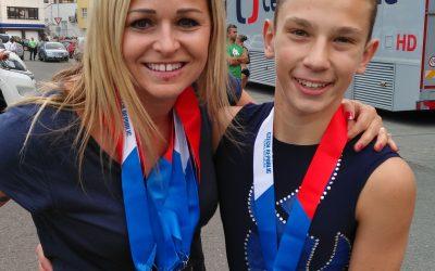 Úspěšné vystoupení na Mistrovství ČR ve sportovním aerobiku