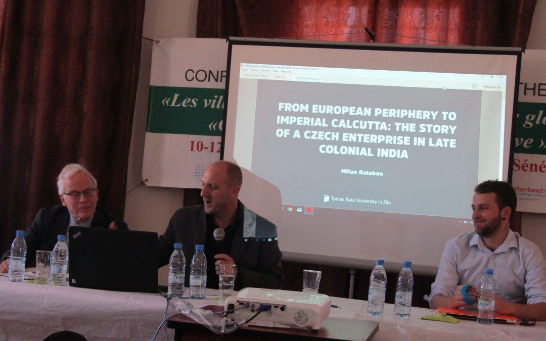Univerzitní historik přednáší v Senegalu o Baťovi