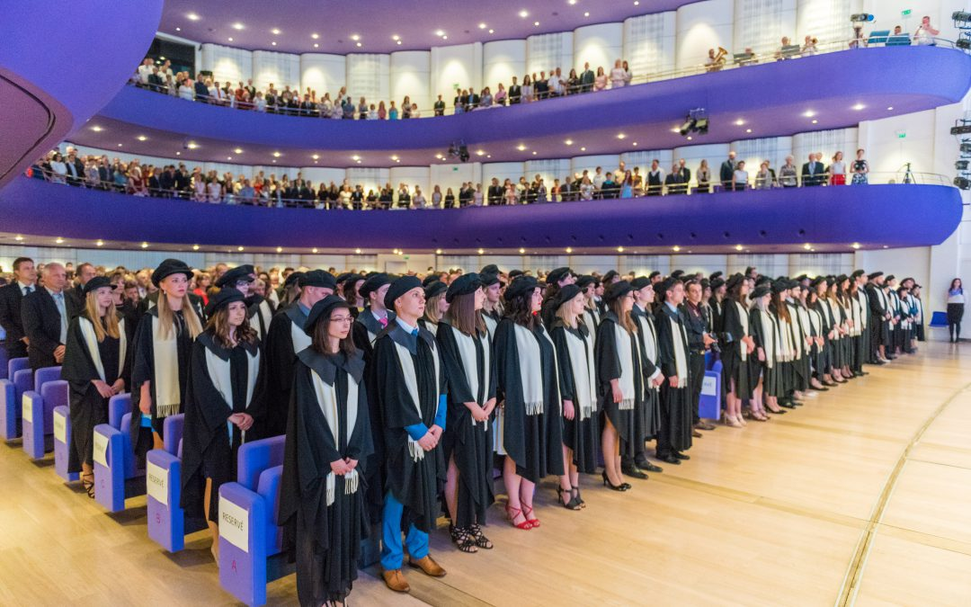 Promoce absolventů UTB