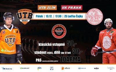 Evropská univerzitní hokejová liga ve Zlíně