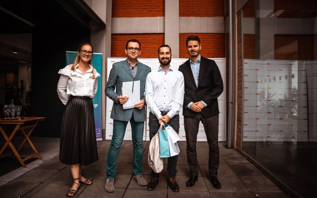 Student zlínské univerzity získal první místo v soutěži Můj první milion