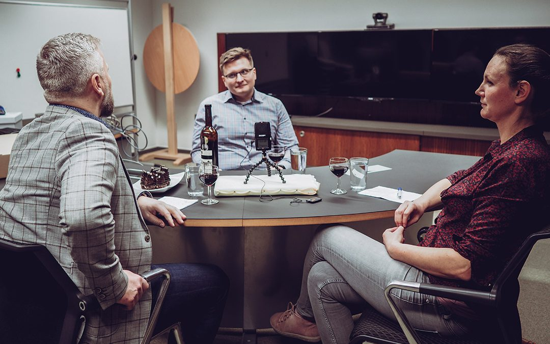 Vypouštíme populárně vědecký podcast Science Wine