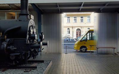 Prototyp autobusu zamířil do sbírek Národního technického muzea