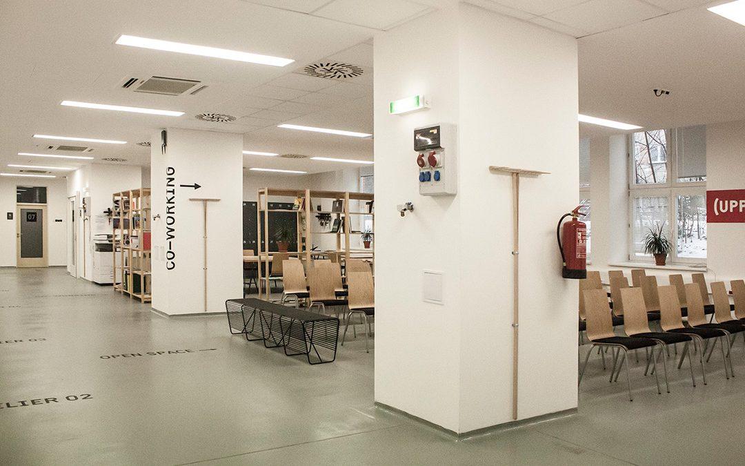 Centrum kreativních průmyslů a podnikání UPPER slaví páté narozeniny