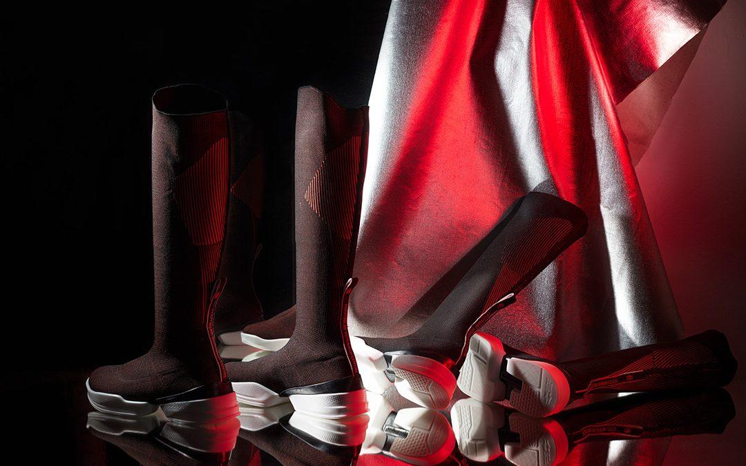 Obuv Hi-tech Footwear Skin sbírá mezinárodní ocenění